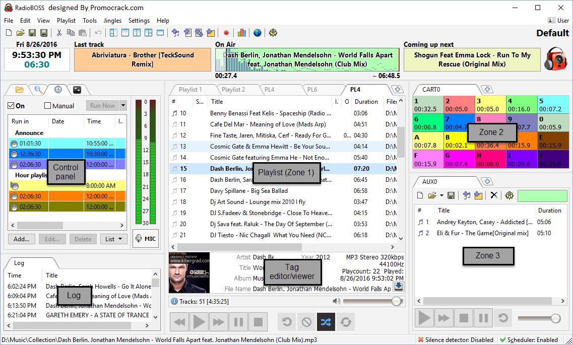 RadioBOSS 6.0.4 Crack Download x64 + Serial Key (2021)