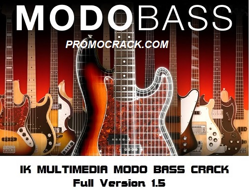 Modo Bass VST 1.5 Crack + Serial Number (2020) Download