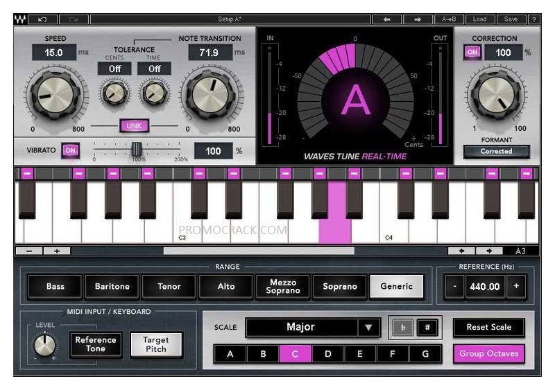 waves tune plugin free download for mac