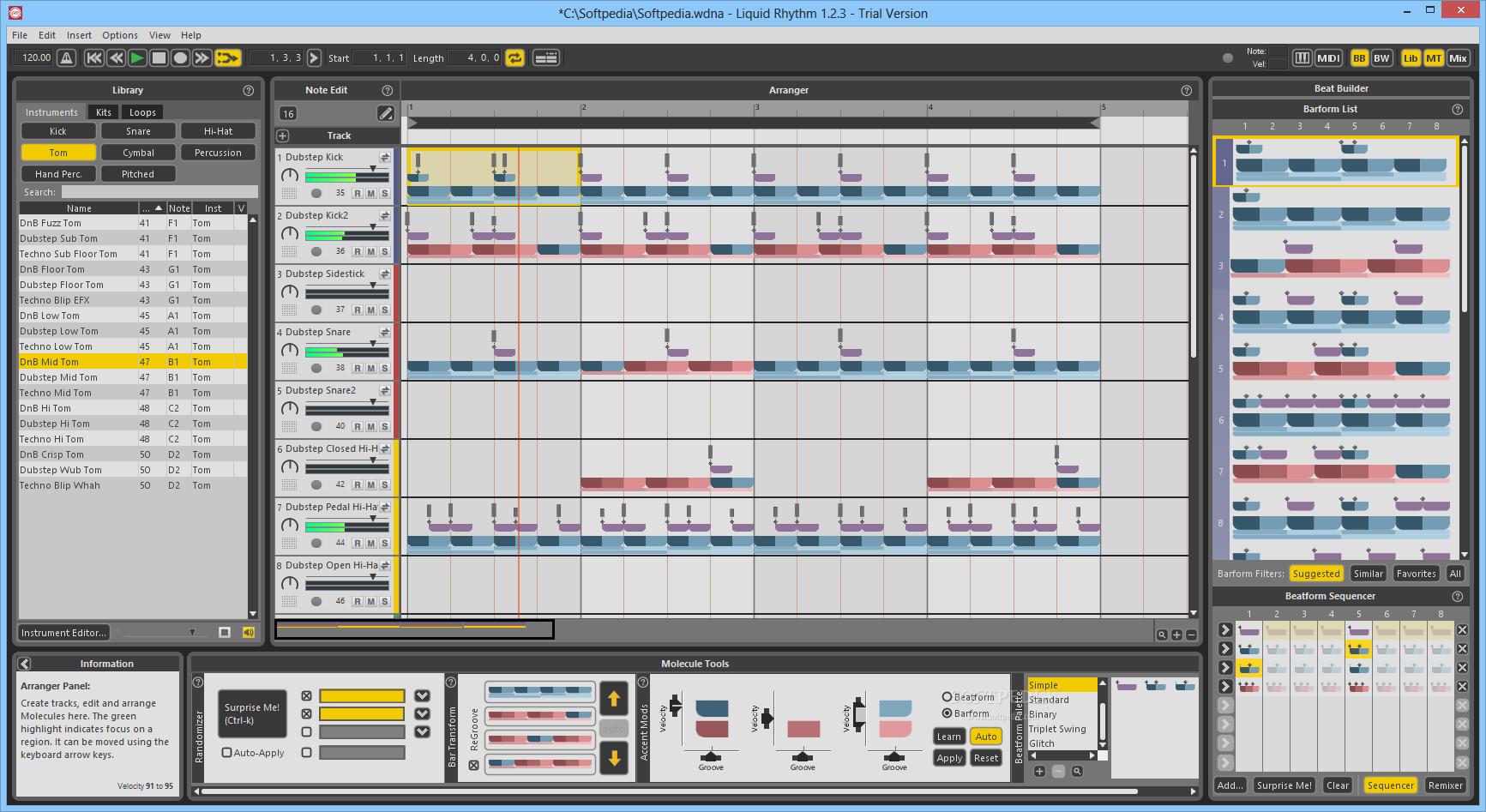 Liquid Rhythm 1.4.5 Crack & Torrent For (Mac + Win)