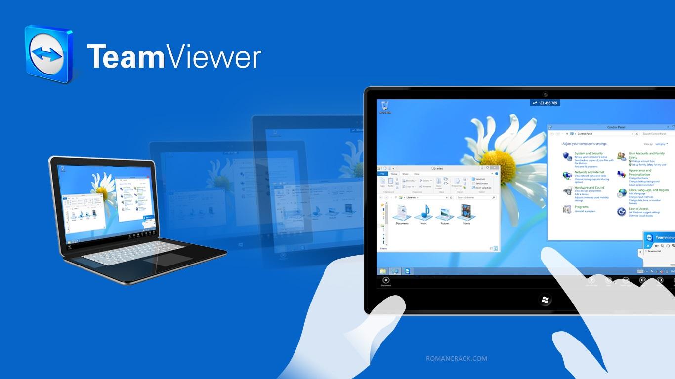 TeamViewer 15.14.2 Crack + License Key For [Windows + Mac]