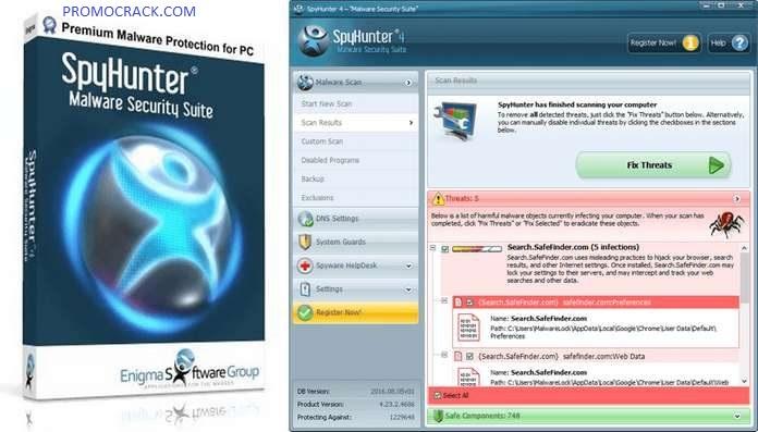 SpyHunter 5.10.7.226 Crack & Portable Download Latest [2021]