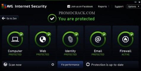 AVG Internet Security 2021 Crack + Serial Key 2025 Download