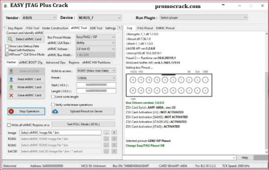 Easy JTAG Plus Crack v3.7.0.23 Without Box Free Download