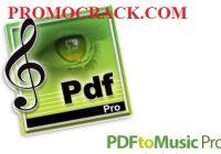 PDFtoMusic Pro Crack v1.7.3 Registration Code Download